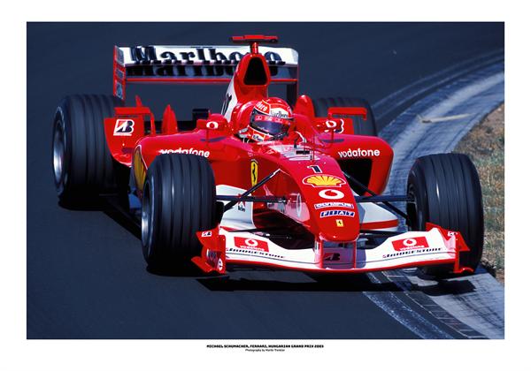 Michael Schumacher, limitovaná edícia, 100x70 cm poster