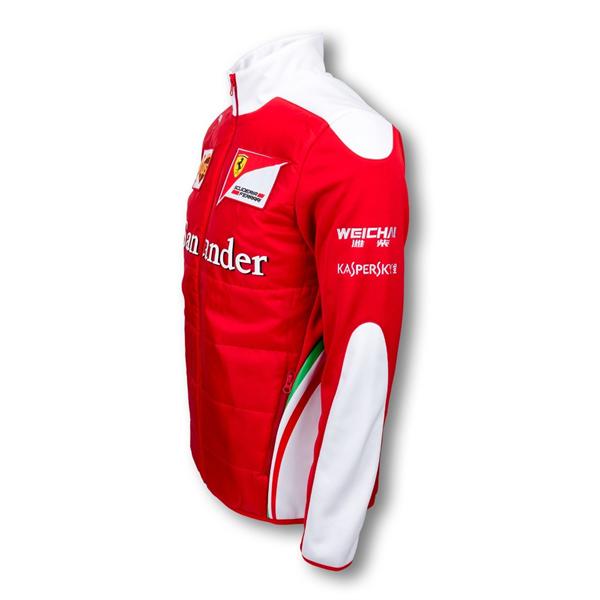 Tímová Softshell Vetrovka Scuderia Ferrari