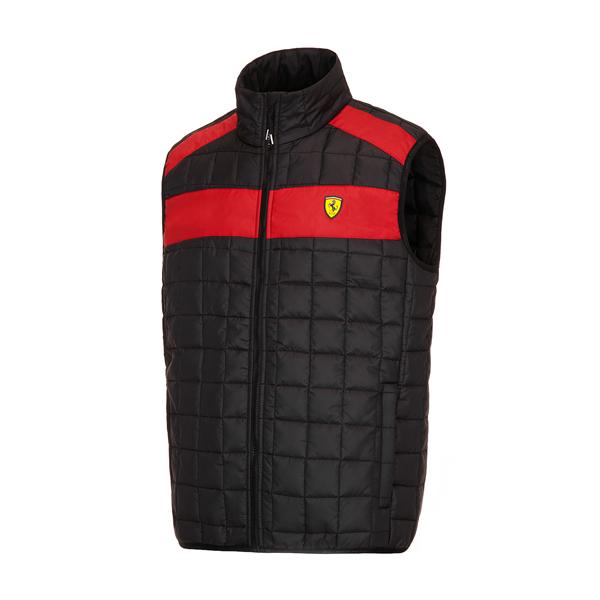 Pánska Vesta Scuderia Ferrari čierna