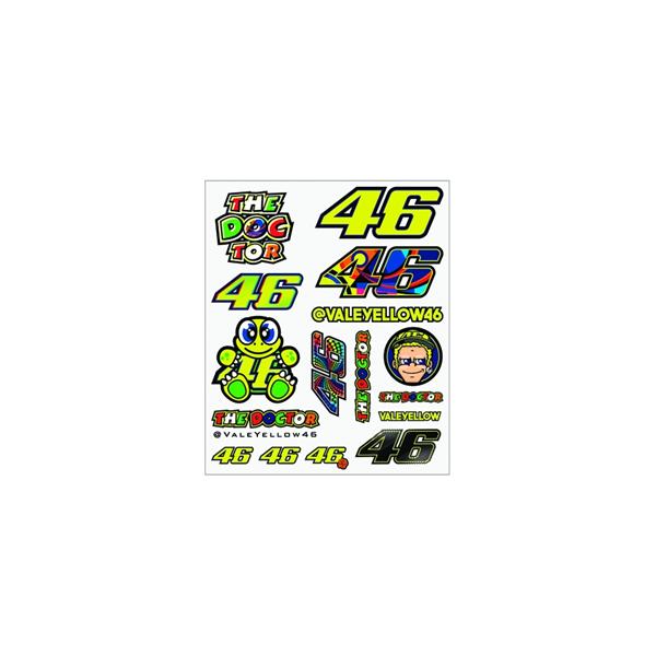 Samolepky Valentino Rossi Big Multicolor