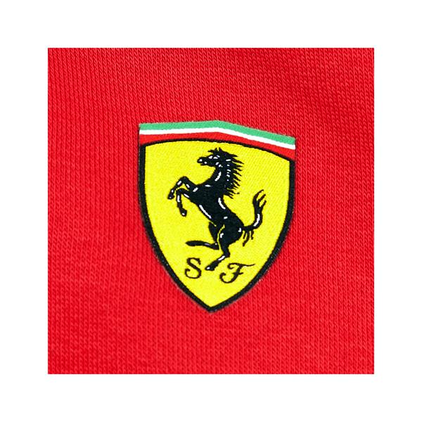 Mikina Scuderia Ferrari Tricolore červená