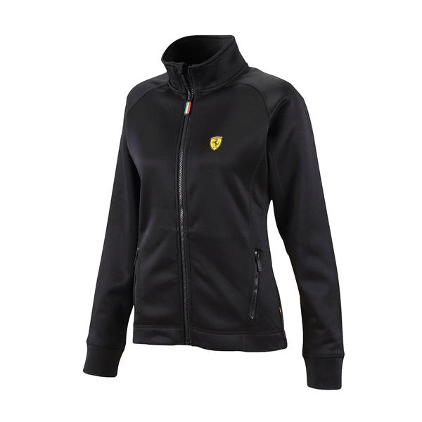 Dámska vetrovka Scuderia Ferrari Power Streatch čierna