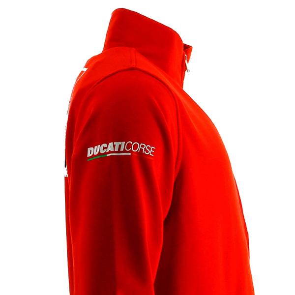Mikina Ducati Corse červená