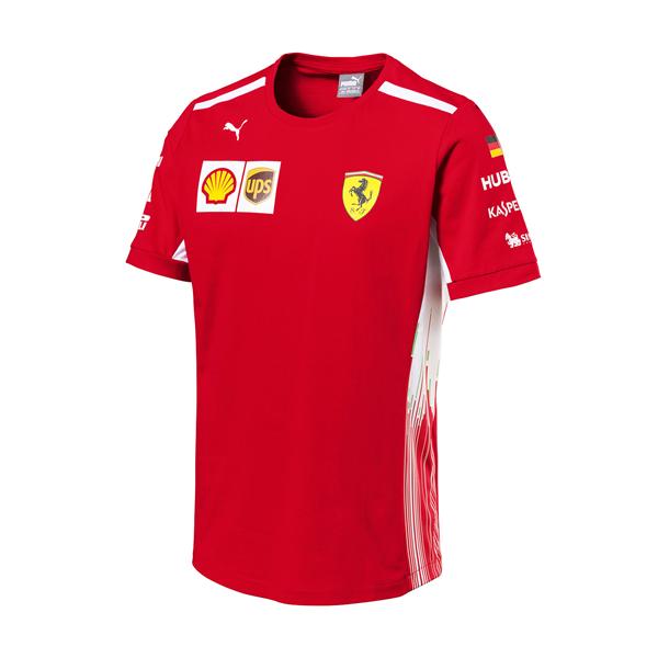 Tímové tričko Scuderia Ferrari Vettel 2018