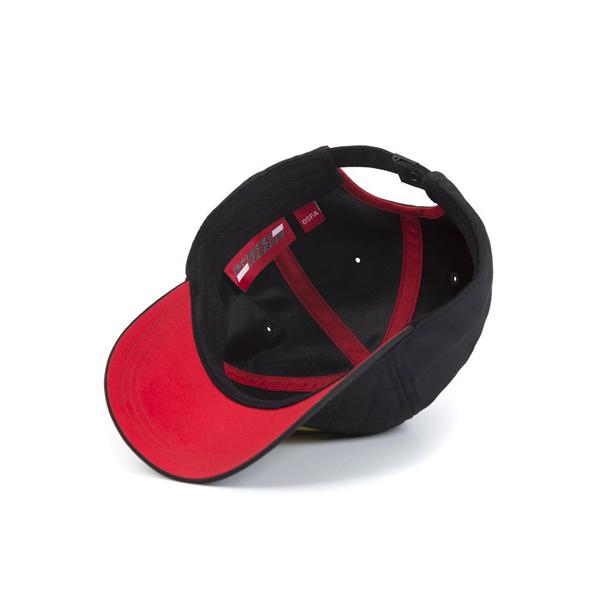 Ferrari F1 Team Quilt Baseball Cap Black