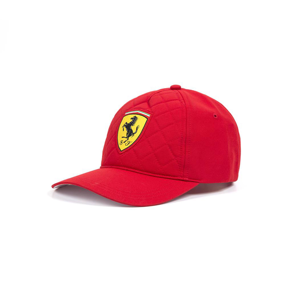Šiltovka Scuderia Ferrari Quilt červená