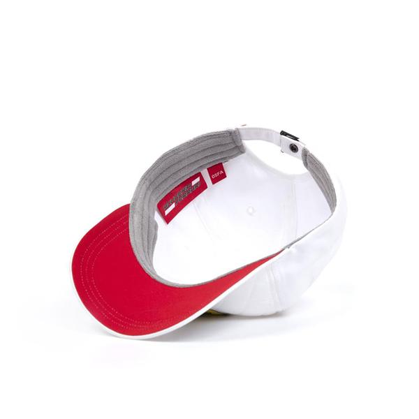Ferrari F1 Team Quilt Baseball Cap White