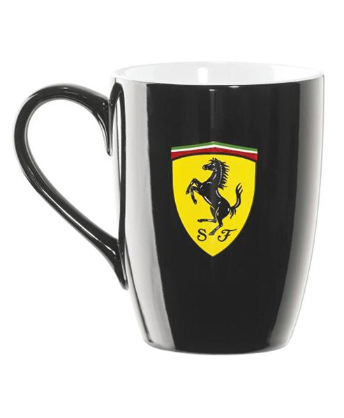 Hrnček Scuderia Ferrari čierny