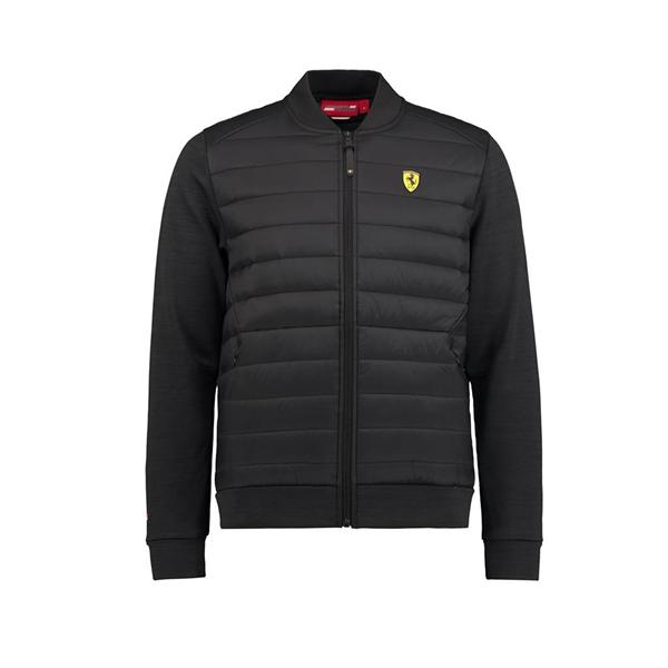 2018 Scuderia Ferrari F1 Team Hybrid Jacket Black  a0da21d5bbf