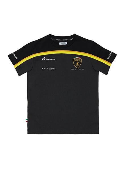 Tričko Lamborghini čierne gold