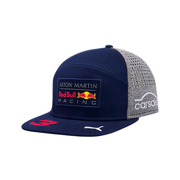 Šiltovka Aston Martin Red Bull Racing F1 Team Ricciardo Flatbrim