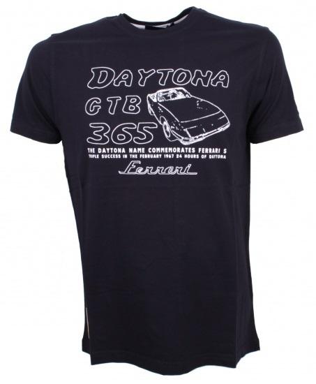 Ferrari 365GTB Daytona S/S tričko čierne