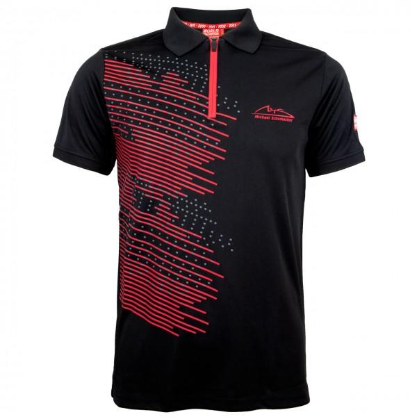 Michael Schumacher Polo-Shirt Speedline čierne
